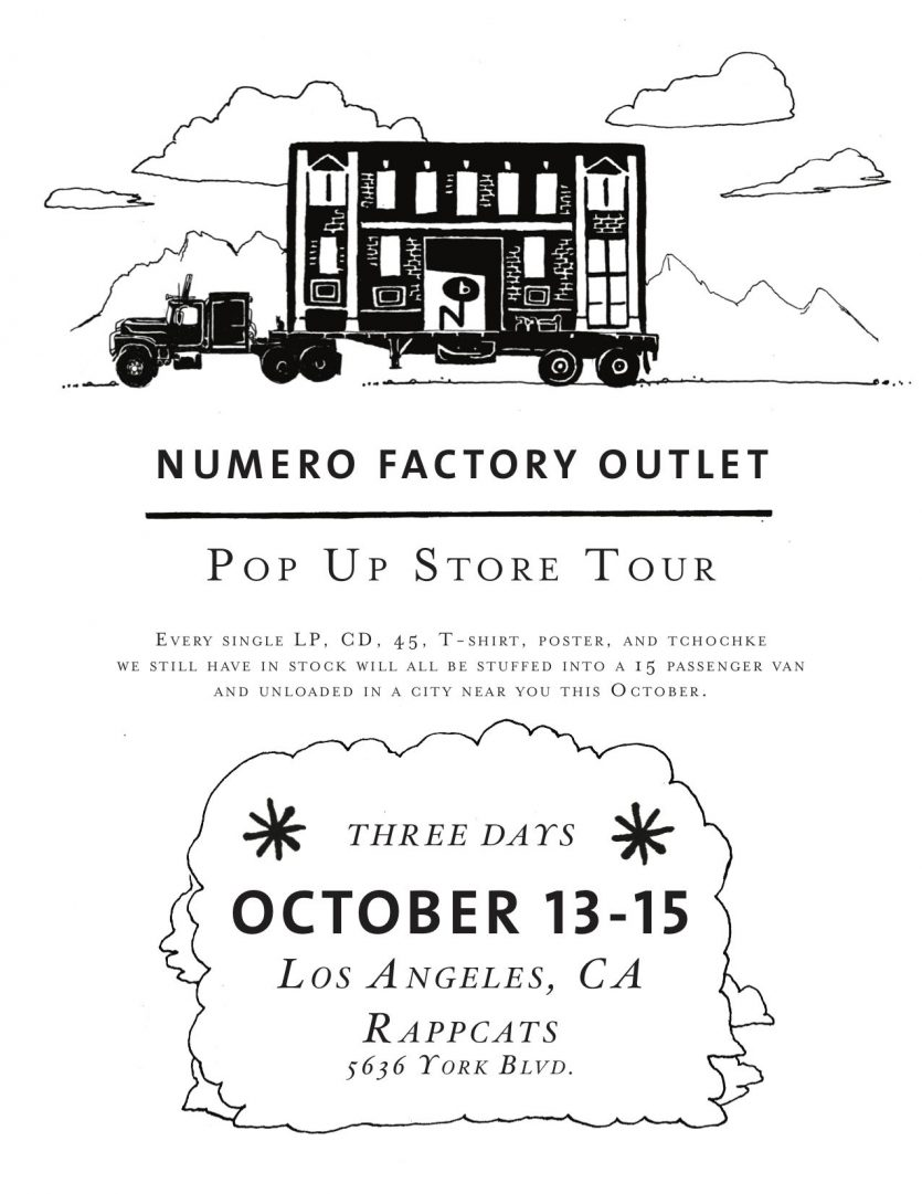 NUMERO FACTORY OUTLET LA