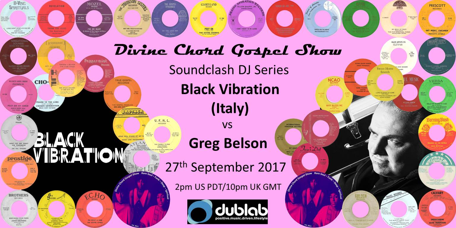 Black Vibration vs Greg Belson DCGS - September 2017