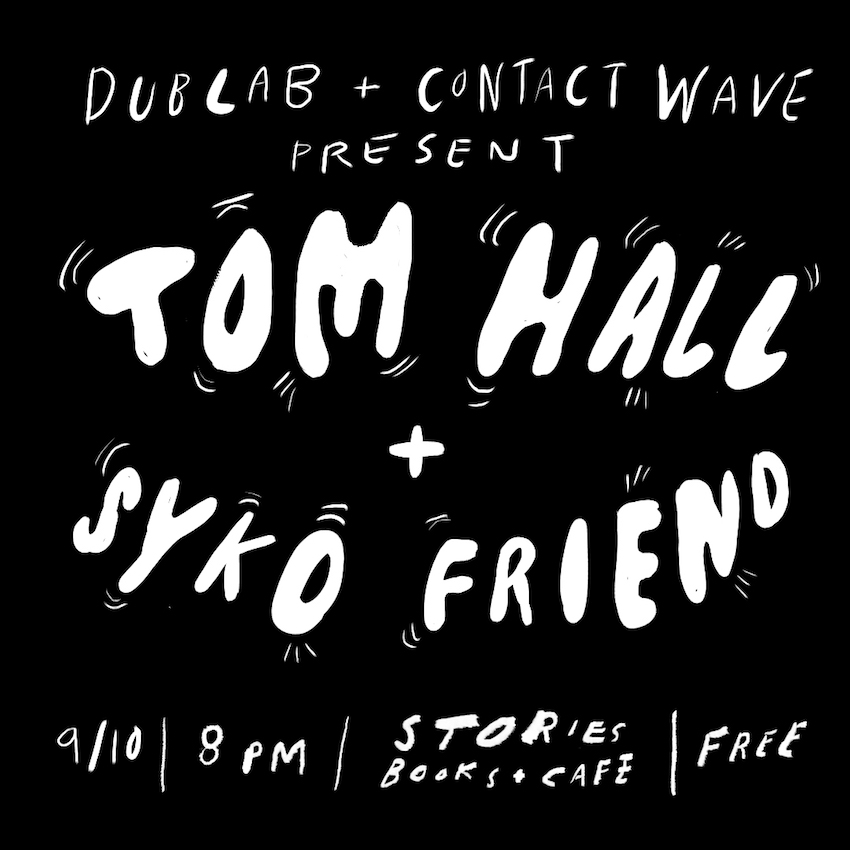 Tom Hall Syko Friend Stories Books Cafe